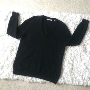NWOT Vince Cashmere Sweater Black Size Large